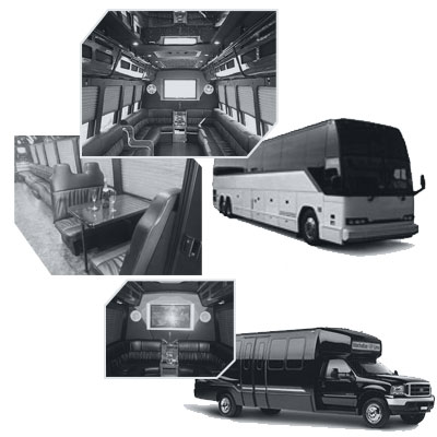 Party Bus rental and Limobus rental in Philadelphia, PA